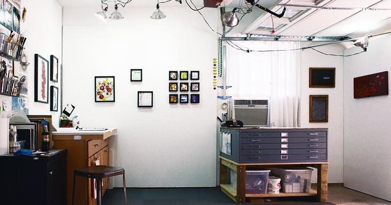 Laura Latimer art studio