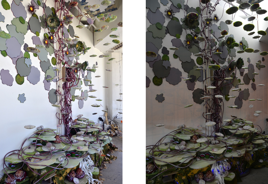Site-specific art installation Dispersal by Laura Latimer