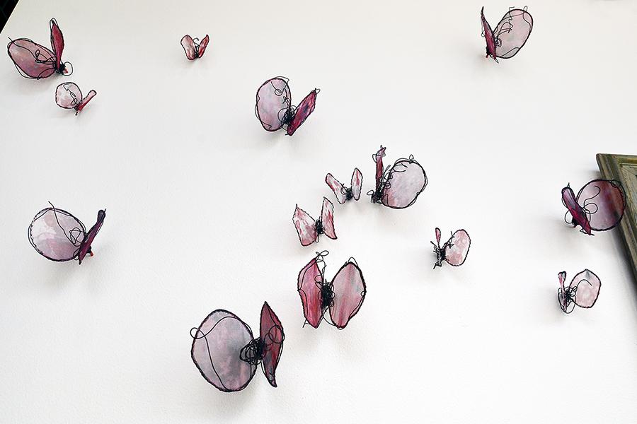 Installation art by sculptor Laura Latimer