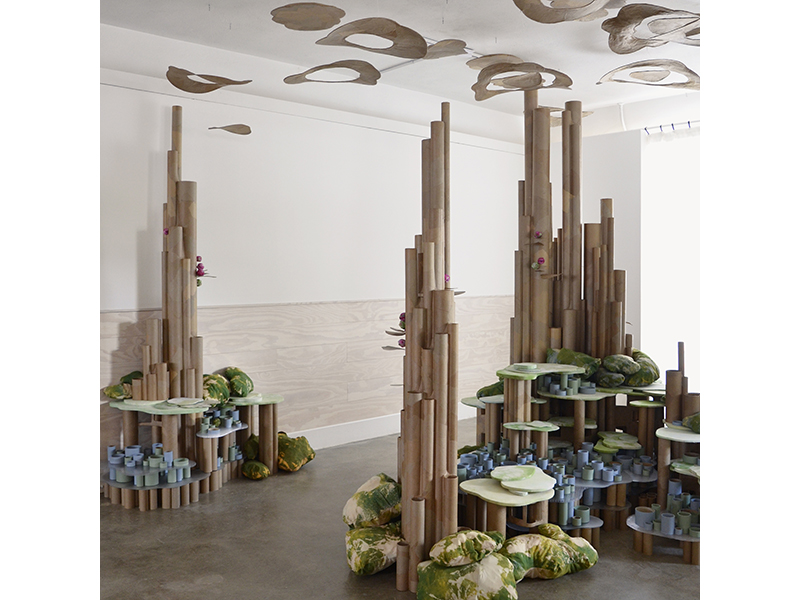 Installation view of Thereafter by Laura Latimer