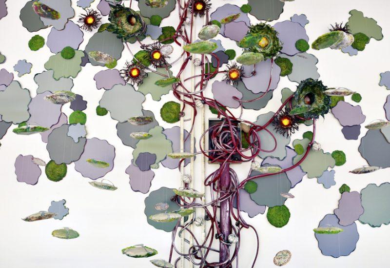 Dispersal (site-specific installation) by artist Laura Latimer