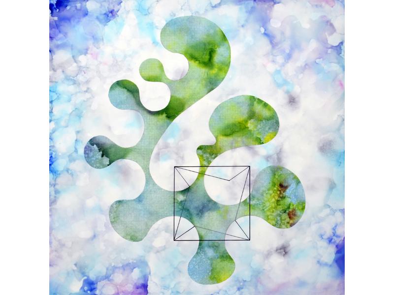 Mixed media artwork by Laura Latimer, 2016