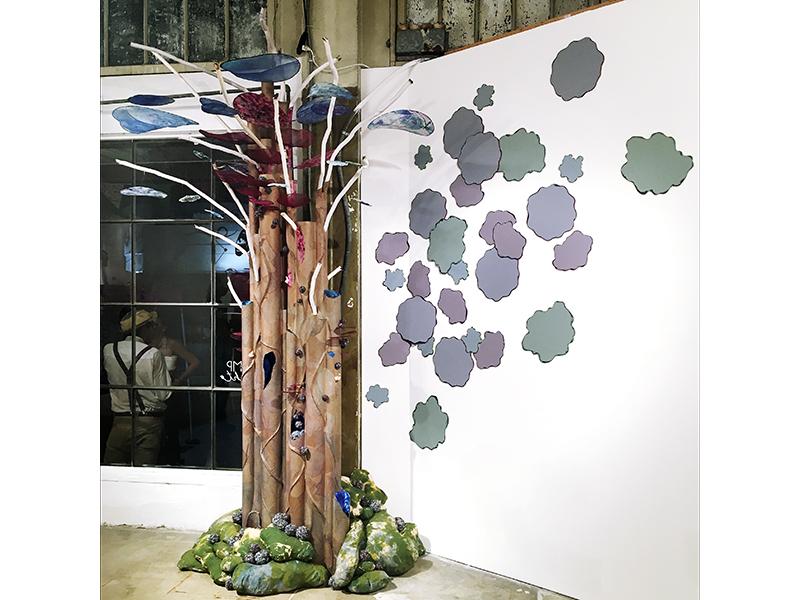 Site-specific installation by sculptor Laura Latimer