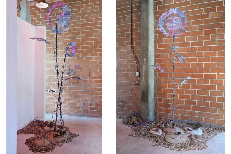 Sculptural art installation by artist Laura Latimer